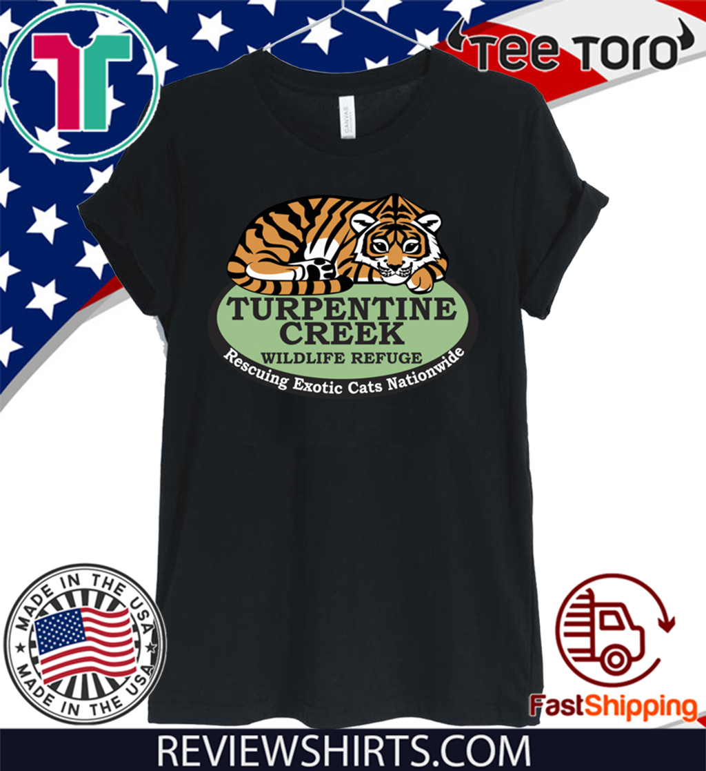 Rescuing Exotic Cats Nationwide Official T-Shirt