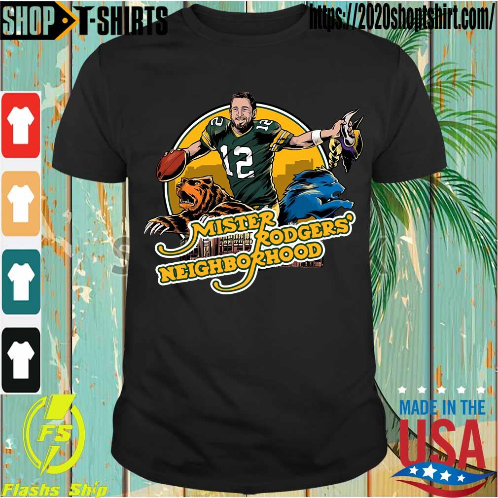 Aaron Rodgers Mister Rogers' Neighborhood shirt