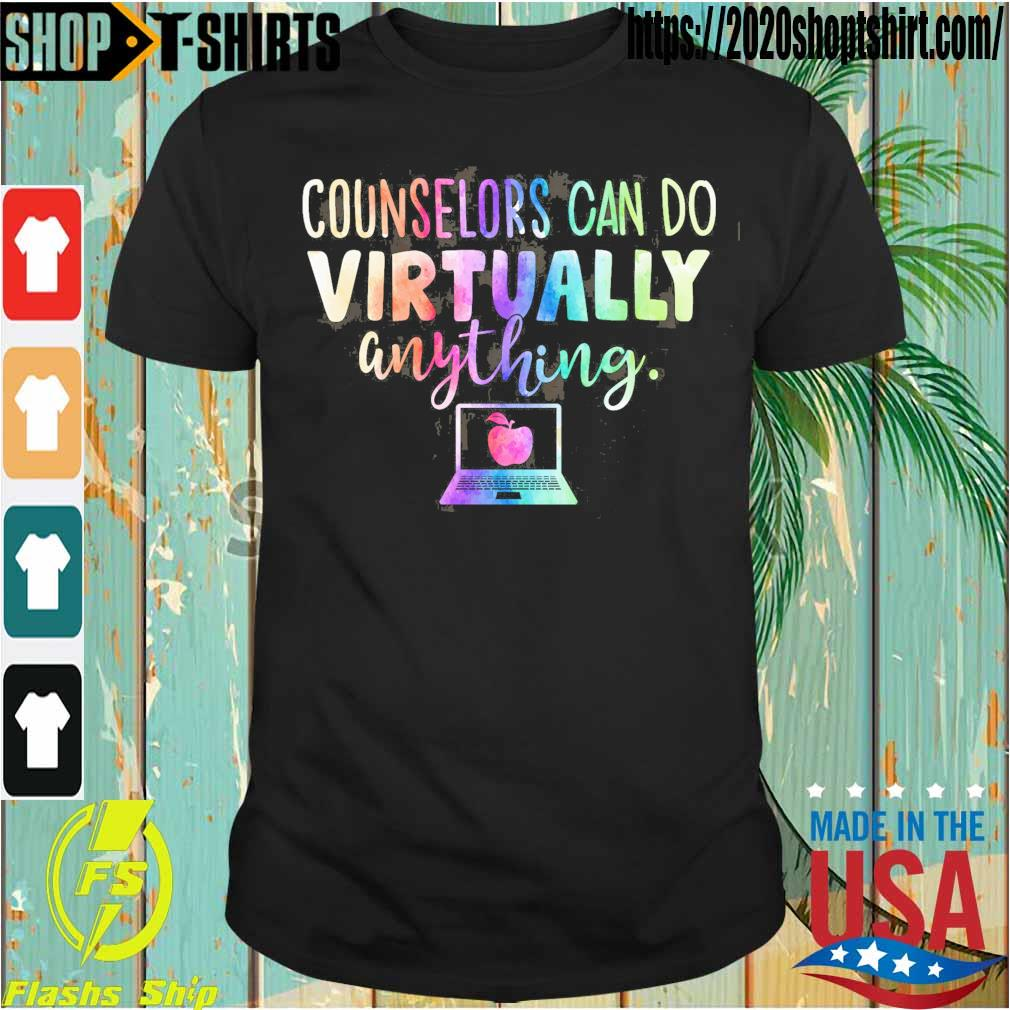 Counselors can do virtually anything shirt