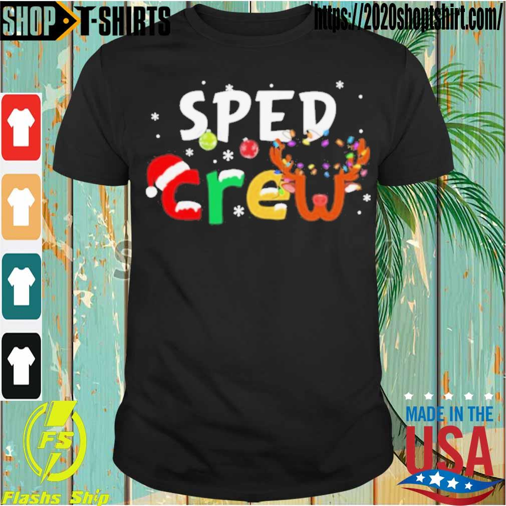 Official Sped Teacher Crew Christmas Shirt